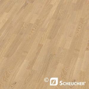 Scheucher Parkett Eiche Classic Perla Schiffsboden